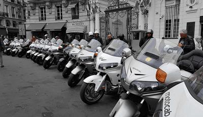 Le succès grandissant des motos taxis