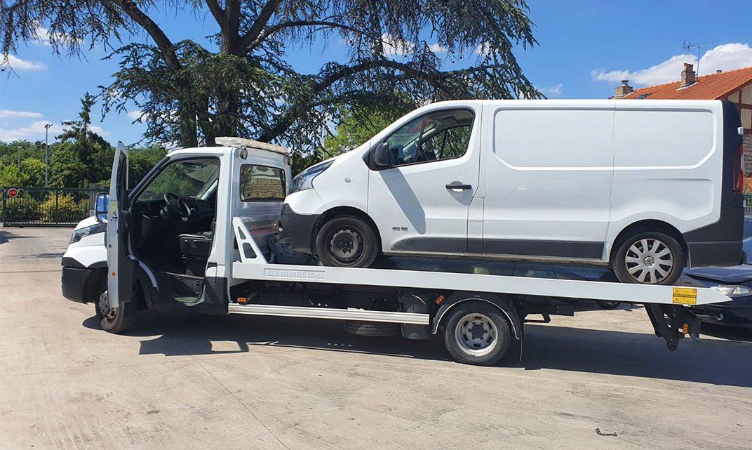 6 solutions pour les véhicules accidentés