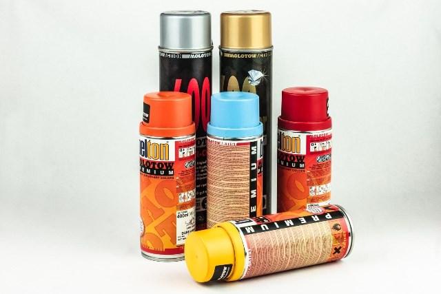 Donner à votre projet la meilleure finale avec la peinture spray
